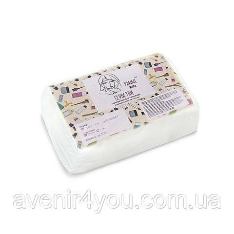Салфетки одноразовые 6х10 см Нарезные Гладкие (100 шт) Белые