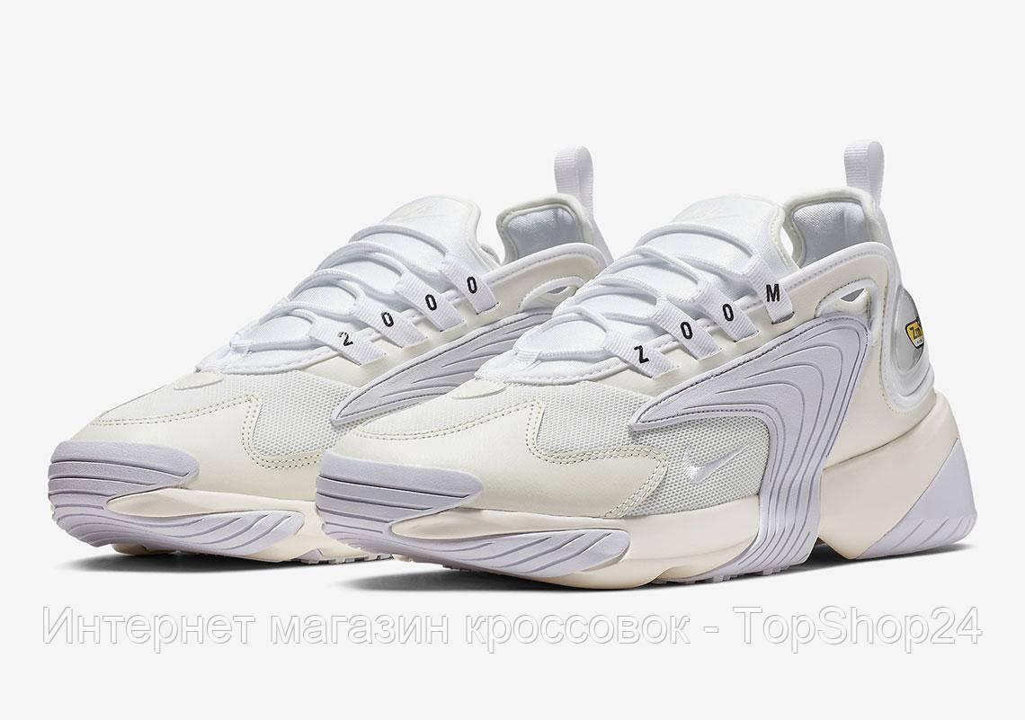 fca9dd664 Купить Мужские кроссовки Nike ZooM 2K White (реплика А+++ ...
