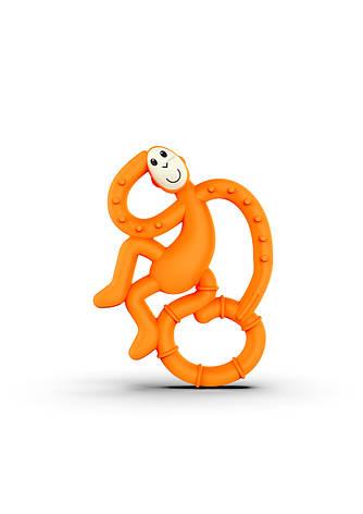 Игрушка-прорезыватель Matchstick Monkey Маленькая Танцующая Обезьянка (цвет оранжевый, 10 см), фото 2
