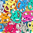 Игрушка-прорезыватель Matchstick Monkey Маленькая Танцующая Обезьянка (цвет оранжевый, 10 см), фото 4