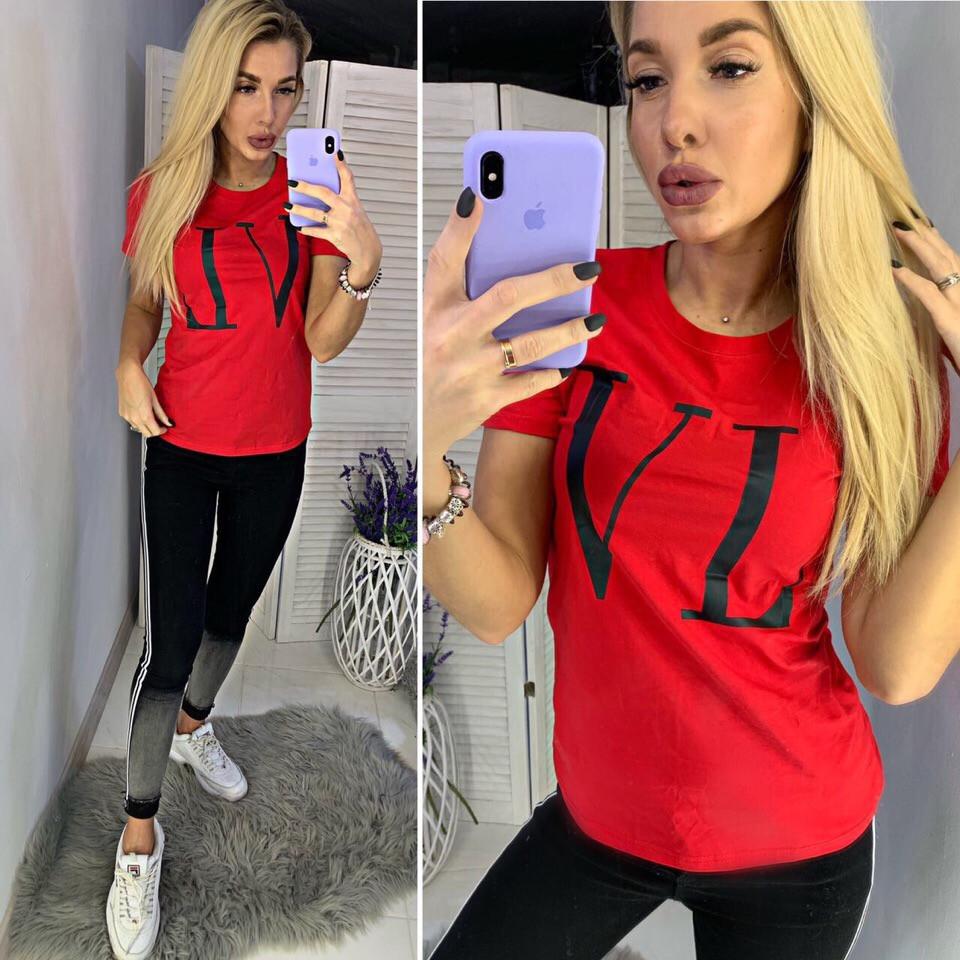 842b47bd8 Футболка люксовая реплика Valentino (3 цвета) - Оптово-розничный интернет-магазин  одежды
