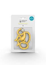 Игрушка-прорезыватель Matchstick Monkey Маленькая Танцующая Обезьянка (цвет желтый, 10 см), фото 2