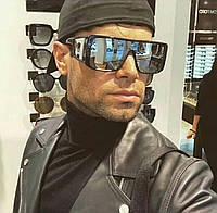 Солнцезащитные мужские очки Маска 7238 черн зеркало