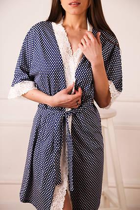 Женский халат трикотажный , фото 2
