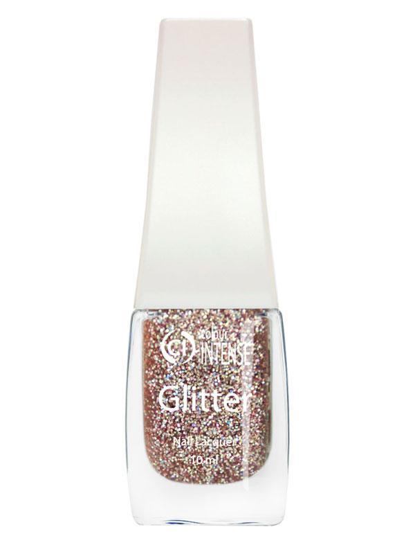 Лак для нігтів G310 Блискітки рожевий неон Colour Intense