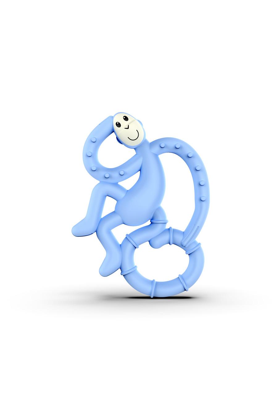 Іграшка-прорізувач Matchstick Monkey Маленька Танцююча блакитна Мавпочка 10 см (MM-ММТ-007)