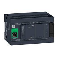 Контролер Modicon M241 14DI/4TO+6RO 2xRS485 + Ethernet + CANopen TM241CEC24R, фото 1
