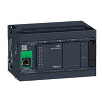 Контролер Modicon M241 14DI/4TO+6RO 2xRS485 + Ethernet + CANopen TM241CEC24R