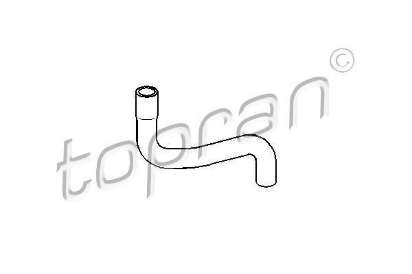 Патрубок резин. VW Golf 3/B-4/Vento 1.6/1.8E