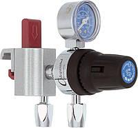 Регулятор низкого давления центральной системы сжатого воздуха 4 бар, с креплением рейкового типа - DIN
