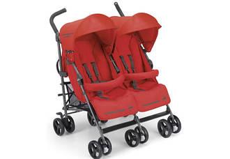 Детская коляска для двойни Cam Twin Flip Красный (850/24)