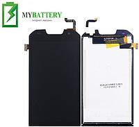 Дисплей (LCD) Doogee S30 с сенсором чёрный