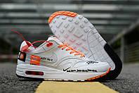 Мужские кожаные кроссовки Nike Air Max ZERO QS x OFF-WHITE 44, фото 1
