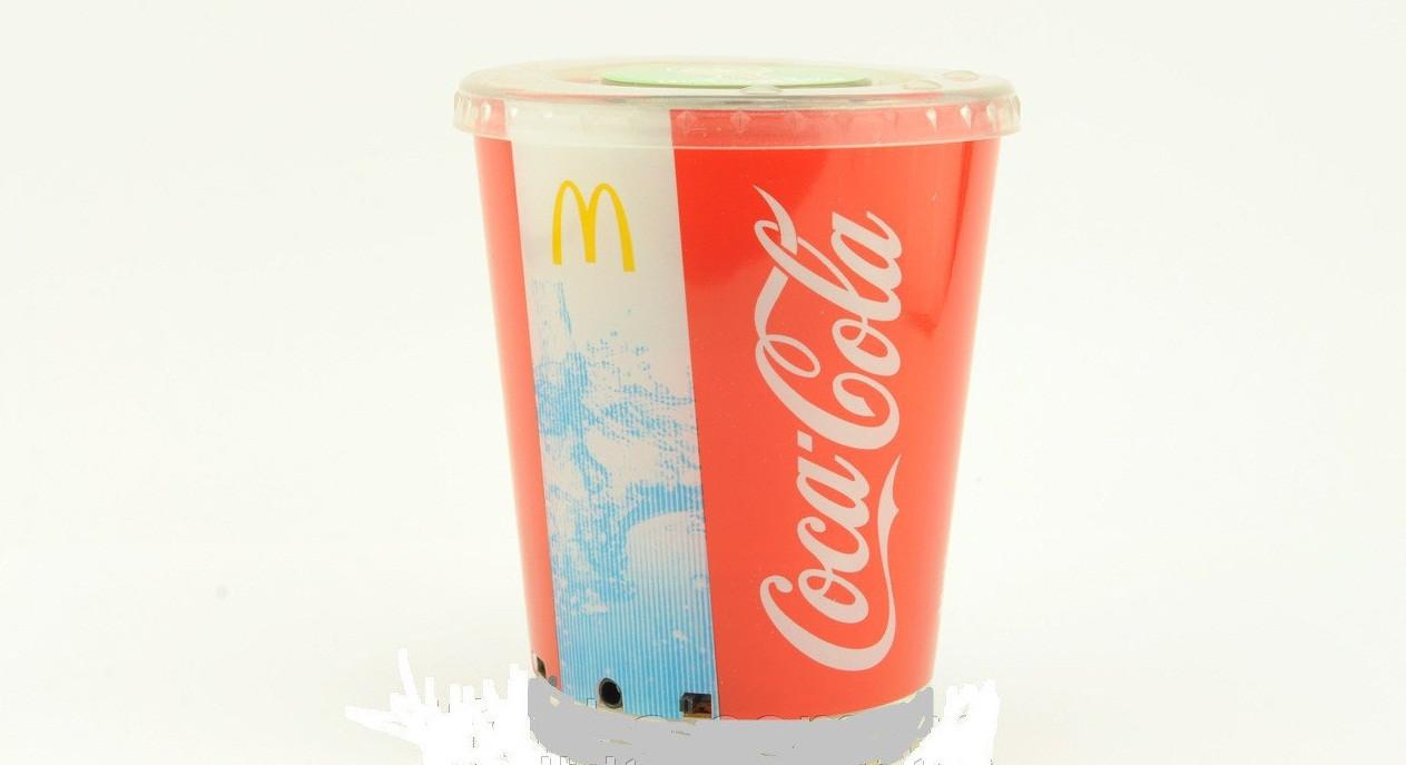 Мини-динамик Coca Cola стакан с подсветкой