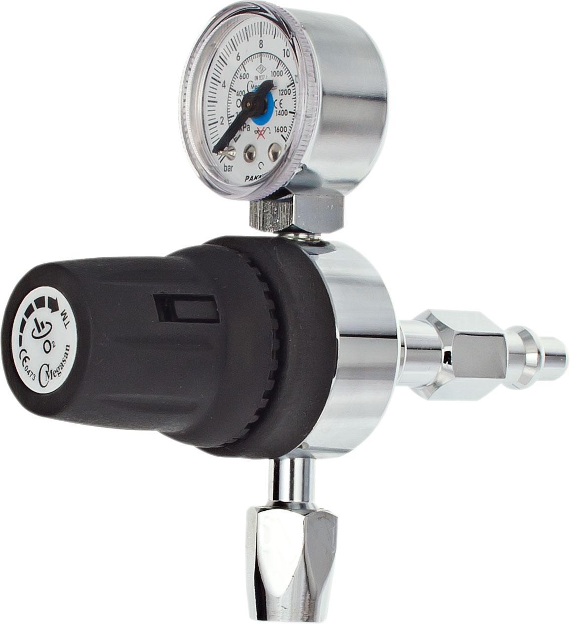 Регулятор низкого давления центральной системы кислорода - DIN