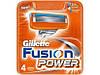 Кассеты для бритья, сменные FUSION Power 4шт
