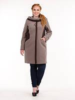 Демисезонное пальто больших размеров в Украине. Сравнить цены ... e2b27a06471b6