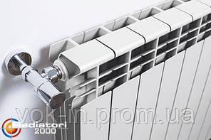 Radiatori 2000 Алюминиевый радиатор Helyos R 500, фото 2