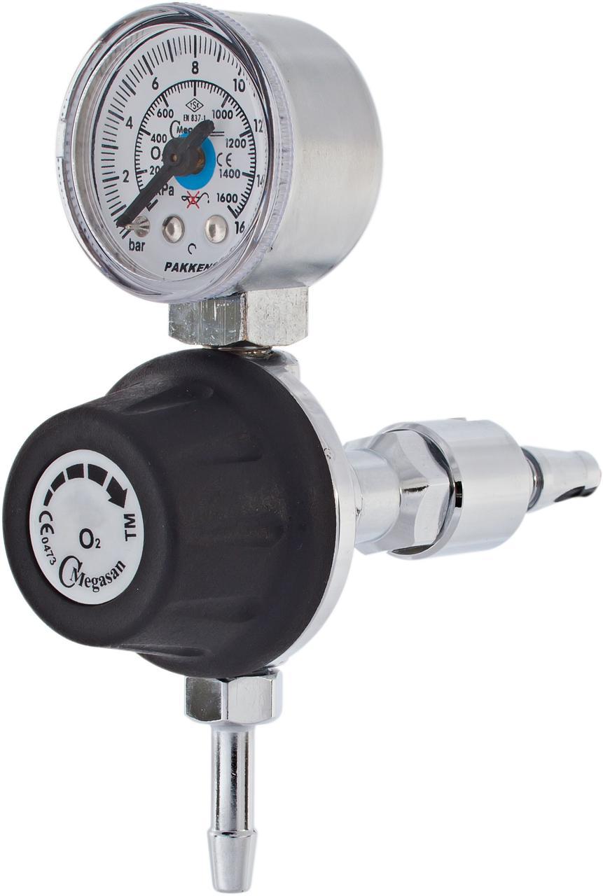 Регулятор скорость потока медицинского воздуха 4 бар - DIN