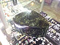 Шкатулка из камня Змеевик (Серпентин), фото 1