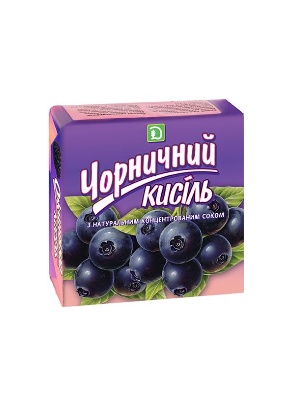 Кисель Черничный 180г ДКПК