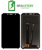 Дисплей (LCD) Doogee S60 с сенсором чёрный
