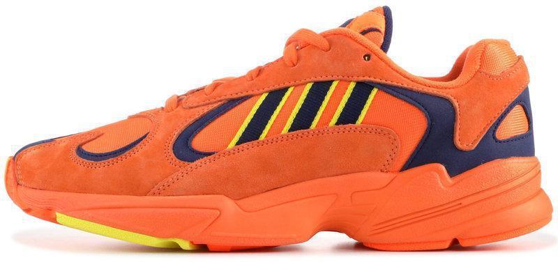 """Кроссовки Adidas yung 1 """"Orange"""" (в стиле Адидас )"""