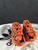 """Кроссовки Adidas yung 1 """"Orange"""" (в стиле Адидас ), фото 5"""