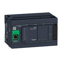 Контролер Modicon M241 14DI/10TO 2xRS485 + Ethernet + CANopen TM241CEC24T