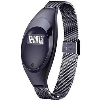 Фитнес браслет UWatch Z18 Black (F_54107)