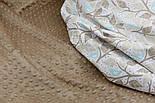 Плюш minky цвет: новый капучино М-11123, фото 6