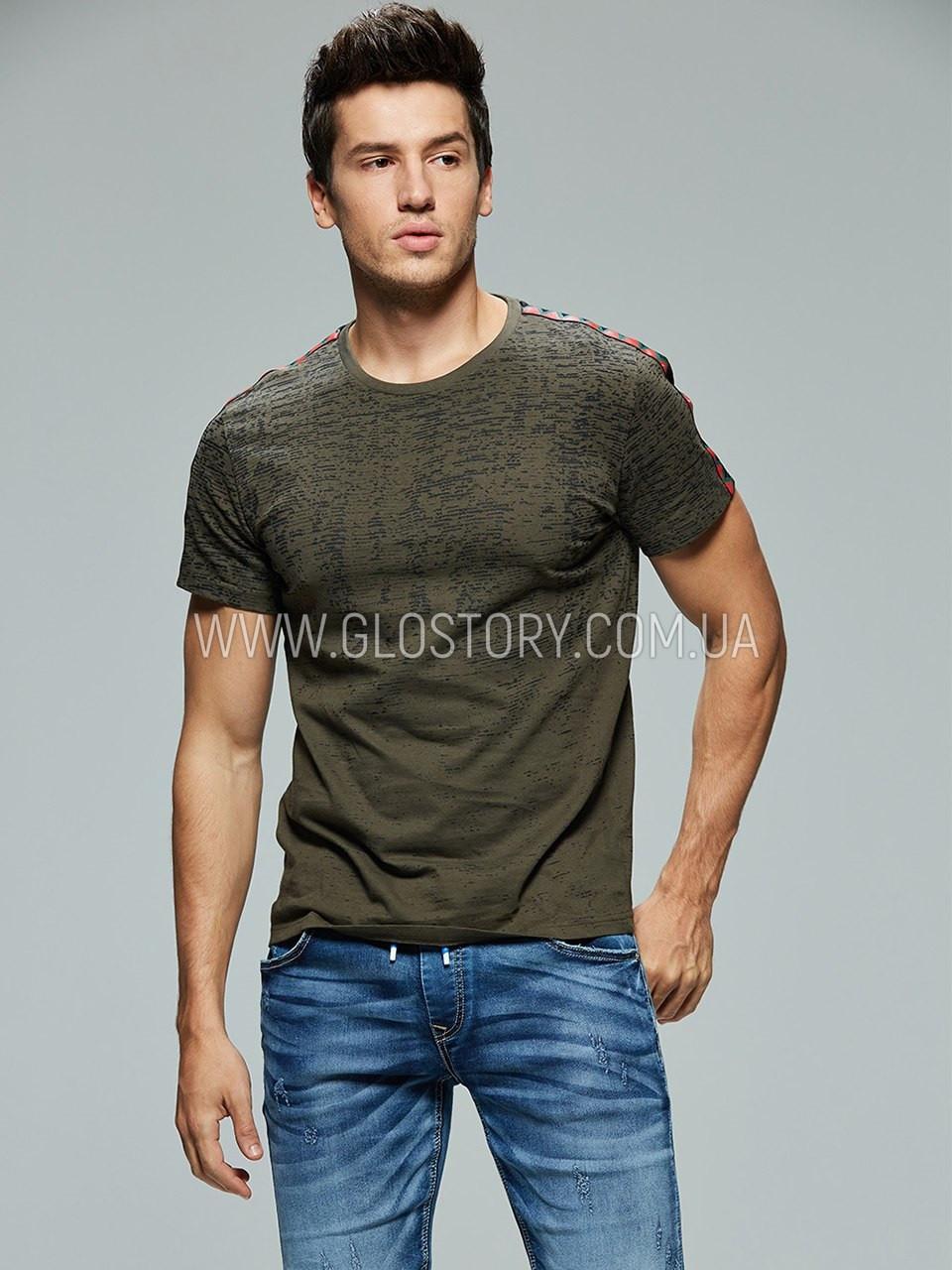 Чоловіча футболка з лампасами