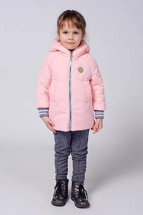 Детская деми курточка с рукавом на трикотажной манжете., фото 2