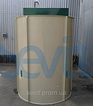 Сепаратор нефтепродуктов POBI-Rain-8 (тип L) усиленный корпус для монтажа в грунт