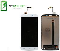 Дисплей (LCD) Doogee T6/ T6 Pro с сенсором белый