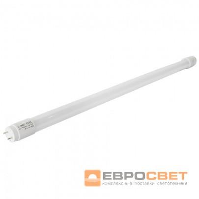 Лампа светодиодная трубчатая ЕВРОСВЕТ 9Вт 6400K L-600-EMC T8 G13