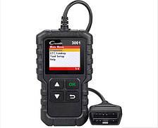 Автомобильный диагностический OBD2 сканер Launch Creader 3001, обновленный!