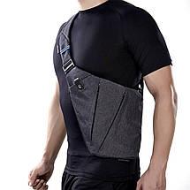 Мужская сумка мессенджер Cross Body, фото 3