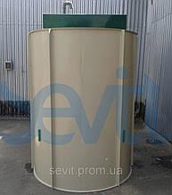 Сепаратор жира POBI-Grease-4 (тип L) усиленный корпус для монтажа в грунт