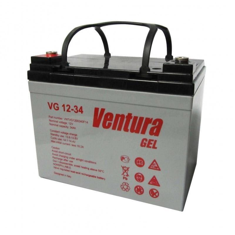 Аккумулятор гелевый - 35 Ач 12В GEL Ventura VG 12-35