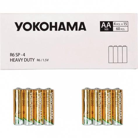 Батарейка YOKOHAMA R-6 SP-4 AA 4шт.459178, фото 2