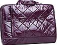 Модная сумка для ноутбука Continent CC-075 Violet фиолетовая, фото 5