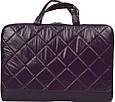 Модная сумка для ноутбука Continent CC-075 Violet фиолетовая, фото 2
