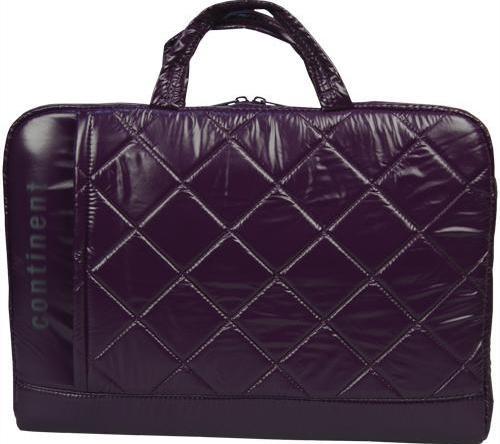 Модная сумка для ноутбука Continent CC-075 Violet фиолетовая