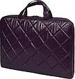 Модная сумка для ноутбука Continent CC-075 Violet фиолетовая, фото 3