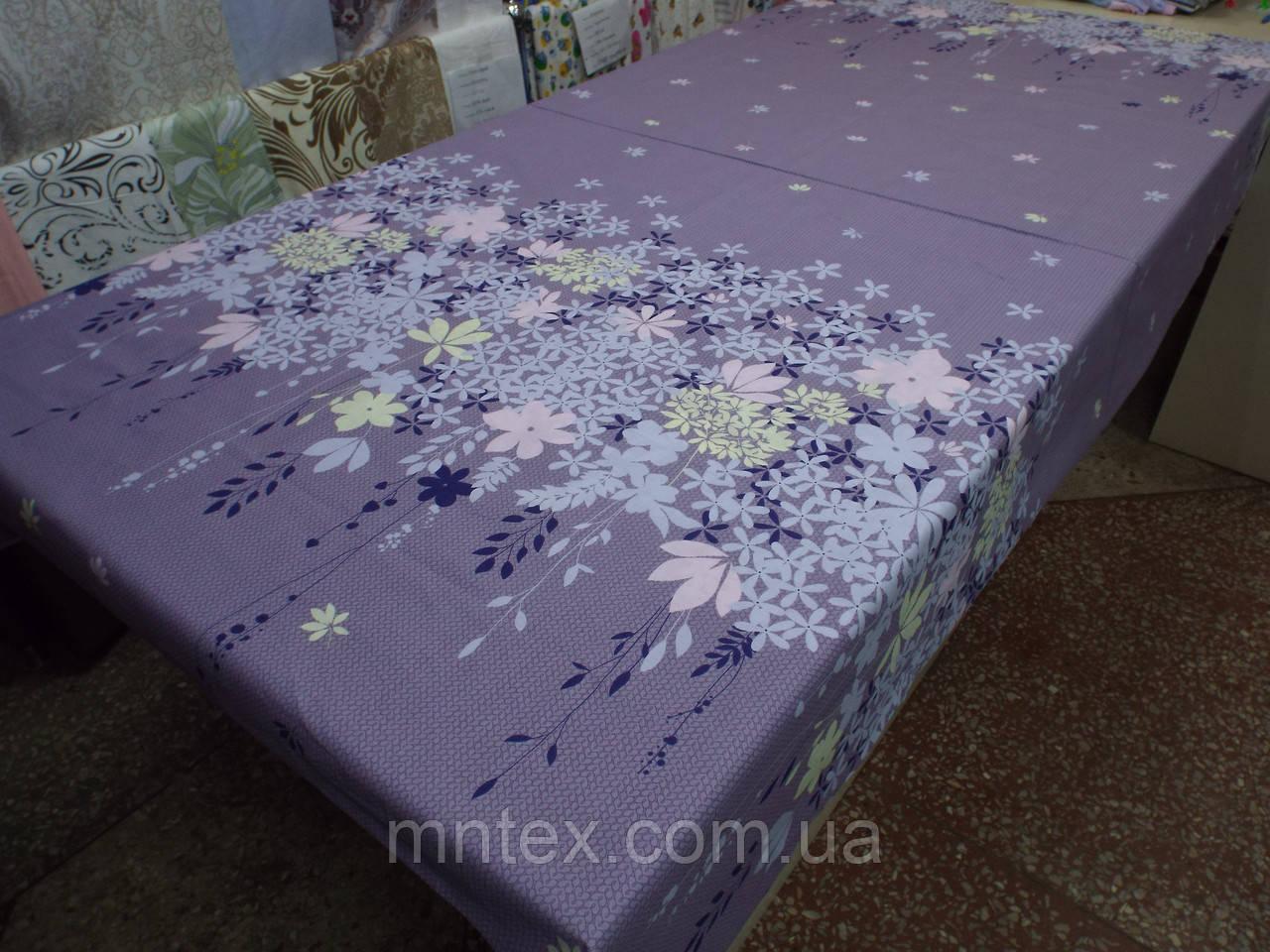 Ткань для пошива постельного белья Ранфорс Незабудки