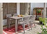 Комплект садових меблів  Ibiza Futura Dining Set ( Keter ), фото 8
