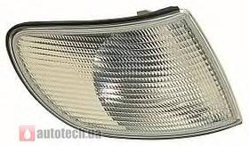 Поворотник Audi A6 >97 правий білий 441-1512R-UE