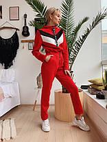Комбинезон с полосами на молнии спортивный с капюшоном, фото 2