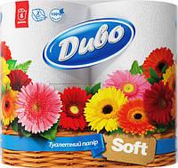 "Бумага туалетная ""Диво Soft"" 2 слоя 8 рулонов"